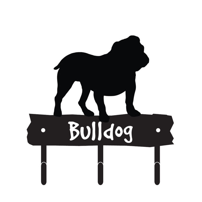 Bulldog Silhouette Bulldog Dog Breed Silhouette