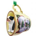 Bulldog-Dog-Christmas-Holiday-Teacup-Ornament-Figurine-Brindle-180738062521