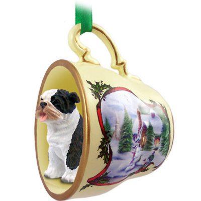 Bulldog-Dog-Christmas-Holiday-Teacup-Ornament-Figurine-Brindle-180738062521