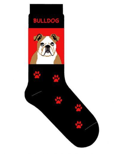 Bulldog-Dog-Socks-Lightweight-Cotton-Crew-Stretch-Egyptian-Made-181299221818