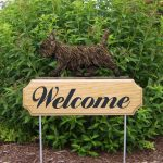 Cairn-Terrier-Dog-Breed-Oak-Wood-Welcome-Outdoor-Yard-Sign-Black-Brindle-400706787910