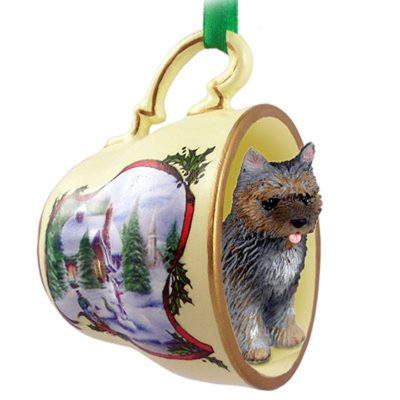Cairn-Terrier-Dog-Christmas-Holiday-Teacup-Ornament-Figurine-Brindle-181240121113
