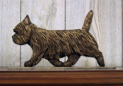 Cairn-Terrier-Dog-Figurine-Sign-Plaque-Display-Wall-Decoration-Black-Brindle-400721988055