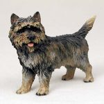 Cairn-Terrier-Hand-Painted-Collectible-Dog-Figurine-Statue-Brindle-400479999415