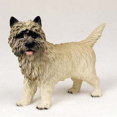 Cairn-Terrier-Hand-Painted-Collectible-Dog-Figurine-Statue-Red-181134289112