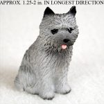 Cairn-Terrier-Mini-Resin-Dog-Figurine-Gray-180644347456