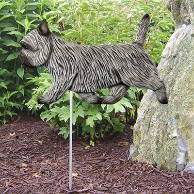 Cairn-Terrier-Outdoor-Garden-Dog-Sign-Hand-Painted-Figure-Light-Grey-181369648434