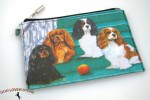 Cavalier-King-Charles-Dog-Bag-Zippered-Pouch-Travel-Makeup-Coin-Purse-400705293687