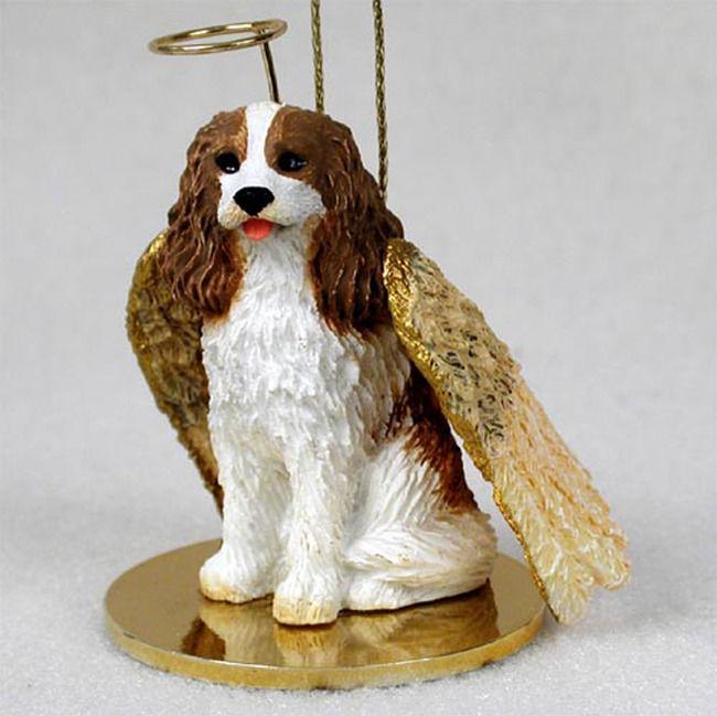 Cavalier-King-Charles -Dog-Figurine-Ornament-Angel-Statue-Hand-Painted-Brown-180772211129.jpg