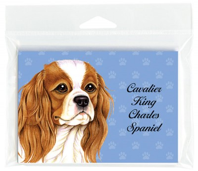 Cavalier-King-Charles-Dog-Note-Cards-Set-of-8-with-Envelopes-181382980727