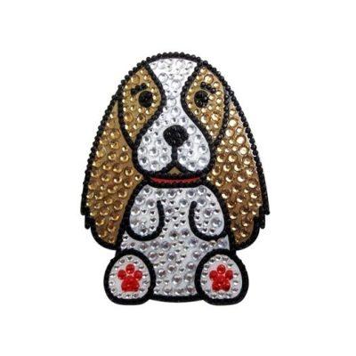 Cavalier-King-Charles-Dog-Rhinestone-Glitter-Jewel-Phone-Ipod-Iphone-Sticker-Dec-181062840993