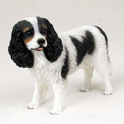 Cavalier-King-Charles-Hand-Painted-Collectible-Dog-Figurine-Statue-400263319779