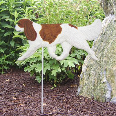 Cavalier-King-Charles-Outdoor-Garden-Dog-Sign-Hand-Painted-Figure-Blenheim-400688300542