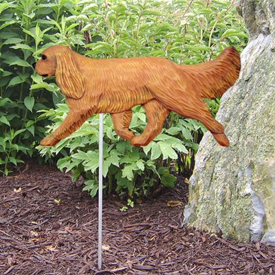 Cavalier-King-Charles-Outdoor-Garden-Dog-Sign-Hand-Painted-Figure-Ruby-400688300712