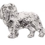 Cavalier-King-Charles-Silver-Dog-Charm-Refrigerator-Magnet-Figurine-180839785570