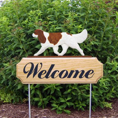 Cavalier-King-Charles-Spaniel-Dog-Breed-Oak-Wood-Welcome-Outdoor-Yard-Sign-Blenh-400706789268