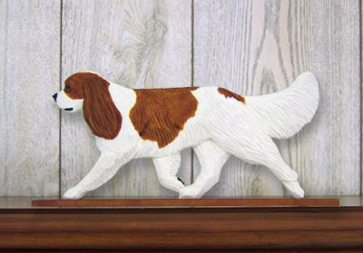 Cavalier-King-Charles-Spaniel-Dog-Figurine-Sign-Plaque-Display-Wall-Decoration-B-400721988819