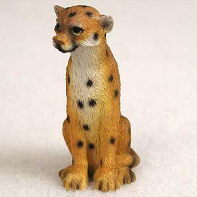 Cheetah-Mini-Resin-Hand-Painted-Wildlife-Animal-Figurine-400592490437
