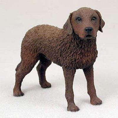 Chesapeake-Bay-Hand-Painted-Dog-Figurine-Statue-180638148078