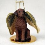 Chesapeake-Bay-Retriever-Dog-Figurine-Ornament-Angel-Statue-Hand-Painted-181337616656