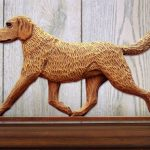 Chesapeake-Bay-Retriever-Dog-Figurine-Sign-Plaque-Display-Wall-Decoration-400721989349