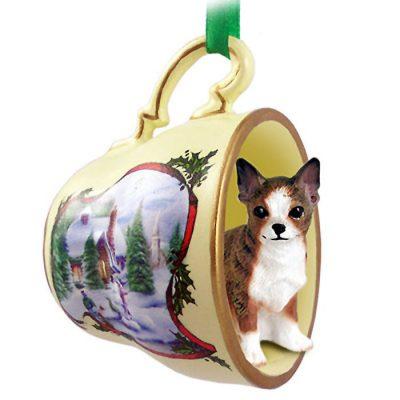 Chihuahua-Dog-Christmas-Holiday-Teacup-Ornament-Figurine-Brindle-180738062617