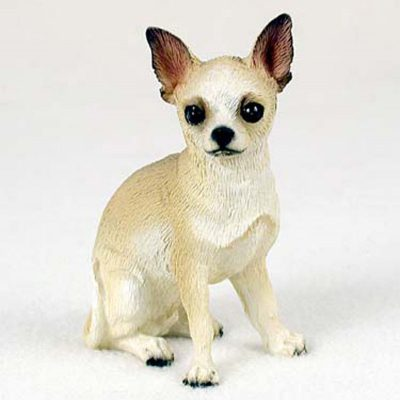 Chihuahua-Hand-Painted-Collectible-Dog-Figurine-White-400220205893