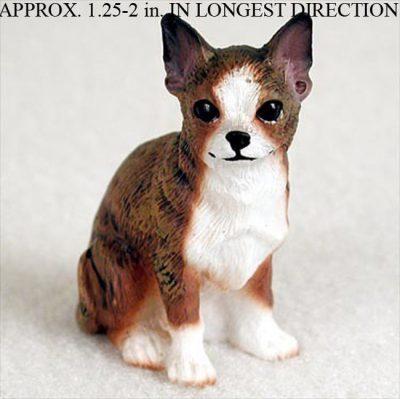 Chihuahua-Mini-Resin-Dog-Figurine-Statue-Hand-Painted-Brindle-400205070137