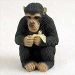 Chimpanzee-Mini-Resin-Hand-Painted-Wildlife-Animal-Figurine-181244573133