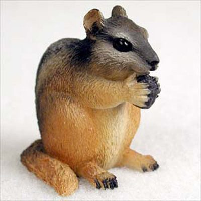 Chipmunk-Mini-Resin-Hand-Painted-Wildlife-Animal-Figurine-400592491194