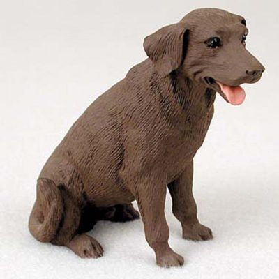 Chocolate-Lab-Hand-Painted-Collectible-Dog-Figurine-400220205904