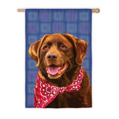Chocolate-Lab-Labrador-Dog-Outdoor-House-Garden-Flag-Decorative-125-x-18-181096999988
