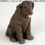 Chocolate-Lab-Mini-Resin-Hand-Painted-Dog-Figurine-Statue-180793074093