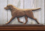 Chocolate-Labrador-Retriever-Dog-Figurine-Sign-Plaque-Display-Wall-Decoration-400721989566