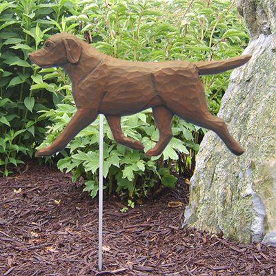 Chocolate-Labrador-Retriever-Outdoor-Garden-Dog-Sign-Hand-Painted-Figure-400688301162