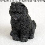 Chow-Chow-Mini-Resin-Hand-Painted-Dog-Figurine-Black-400220476792