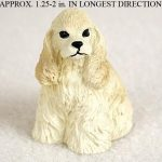 Cocker-Spaniel-Collectible-Mini-Resin-Hand-Painted-Dog-Figurine-Blonde-181350373833