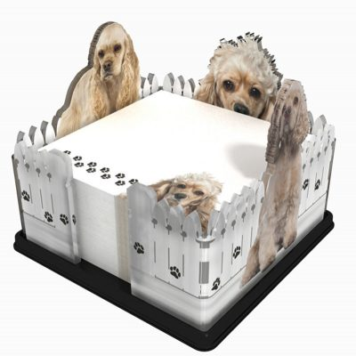 Cocker-Spaniel-Dog-Breed-Acrylic-Note-Holder-Memo-Note-Pad-Made-in-USA-180933037231