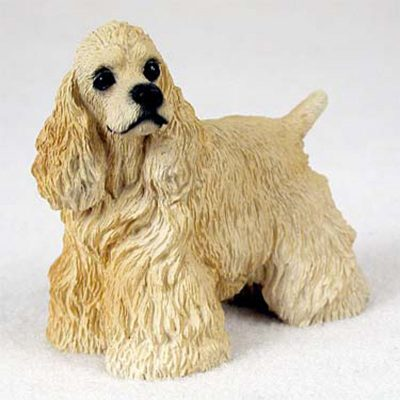 Cocker-Spaniel-Hand-Painted-Collectible-Dog-Figurine-Bl-180689143902