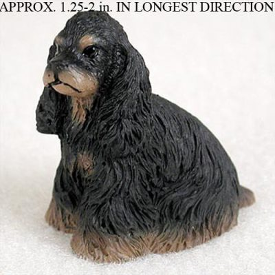 Cocker-Spaniel-Mini-Resin-Dog-Figurine-Statue-Hand-Painted-BlackBrown-400205070211