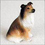 Collie-Collectible-Mini-Resin-Hand-Painted-Dog-Figurine-Sable-180977785321
