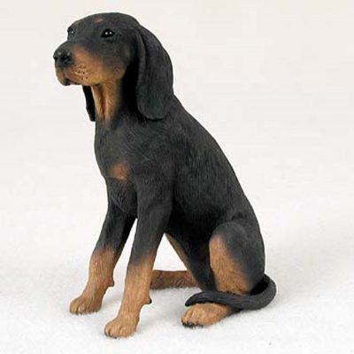 Coonhound-Hand-Painted-Collectible-Dog-Figurine-400282953827