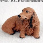 Dachshund-Mini-Resin-Hand-Painted-Dog-Figurine-Longhair-400220476809