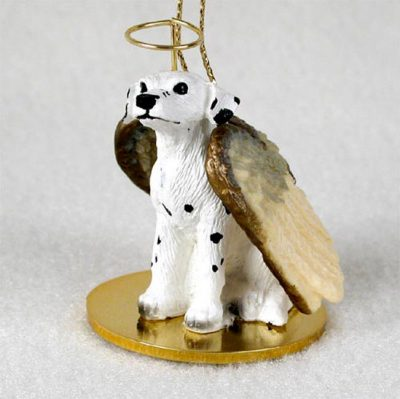 Dalmatian-Dog-Figurine-Angel-Statue-Ornament-181136182388