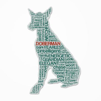 Doberman-Pinscher-Dog-Breed-Cutout-Vinyl-Decal-Bumper-Sticker-Characteristic-Sil-181214596014