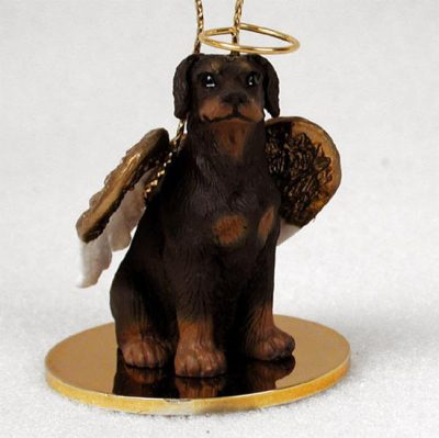 Doberman-Pinscher-Dog-Figurine-Angel-Statue-Hand-Painted-Red-Uncrop-400201487192