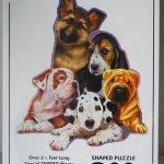 Dog-Dogs-Art-Image-800-Piece-Shaped-Jigsaw-Puzzle-New-180431643291