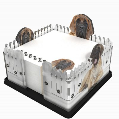 English-Mastiff-Dog-Breed-Acrylic-Note-Holder-Memo-Note-Pad-Made-in-USA-181120385103