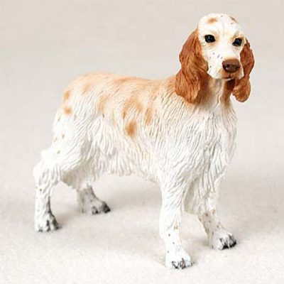 English-Setter-Hand-Painted-Collectible-Dog-Figurine-Or-180689145088