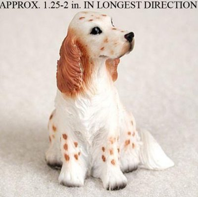 English-Setter-Mini-Resin-Hand-Painted-Dog-Figurine-Ora-180675949672